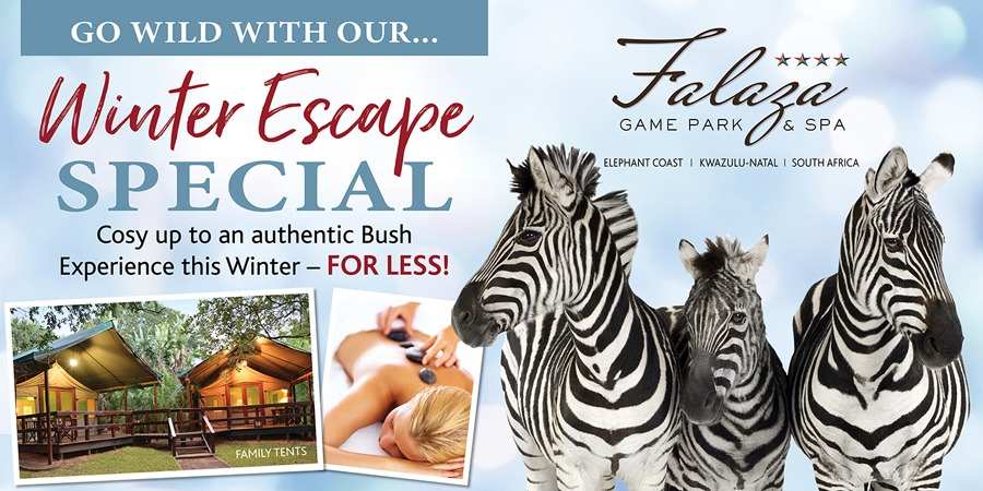 winter escape special at falaza